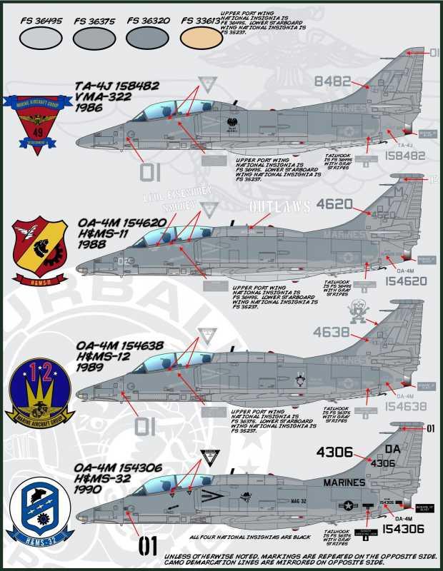 A 4 Skyhawk Challenge Hasegawa 1 48 Oa 4m Skyhawk