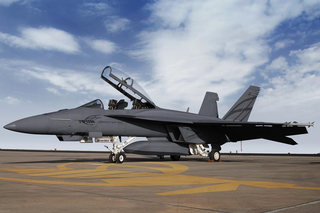 F 18 Advanced Super Hornet Boeing's Advanced F/A-...