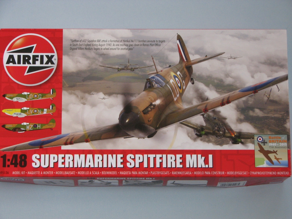 BoB Group Build - Airfix 1-48 Spitfire Mk 1 - KiwiModeller  COM