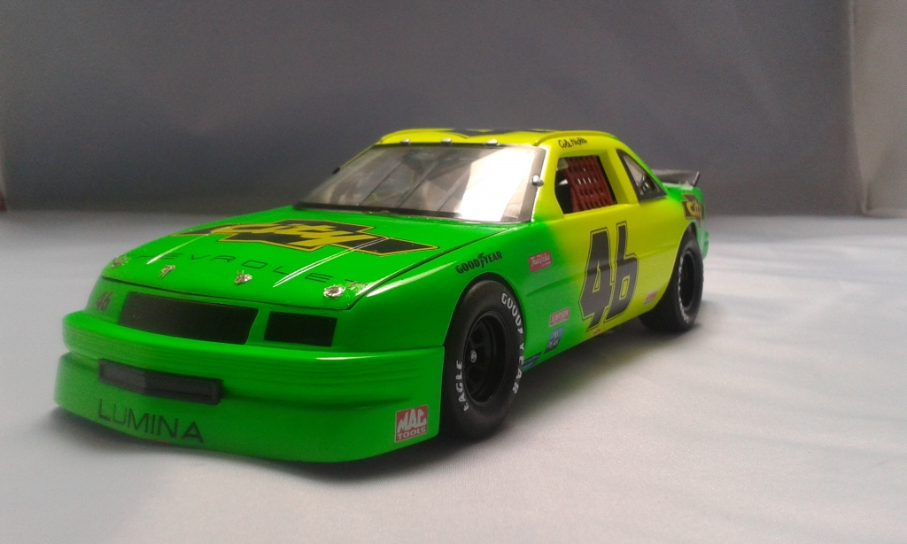 124 City Chevy Lumina Days Of Thunder Finished Kiwimodeller Com