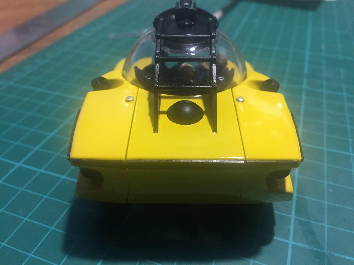 Aoshima Triton Submarine 1/48 FINISHED - KiwiModeller  COM